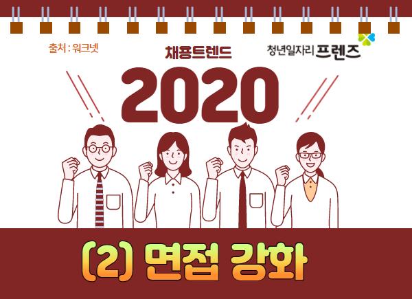 2020 채용트렌드 : (2) 면접 강화